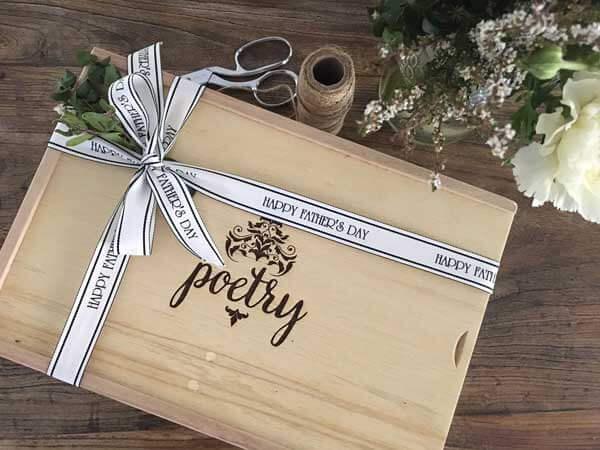 Corporate Gifts & Hampers wooden gift box