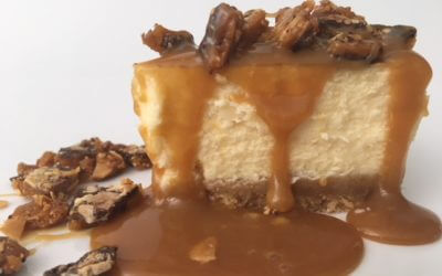 Poetry Salted Caramel Cheesecake